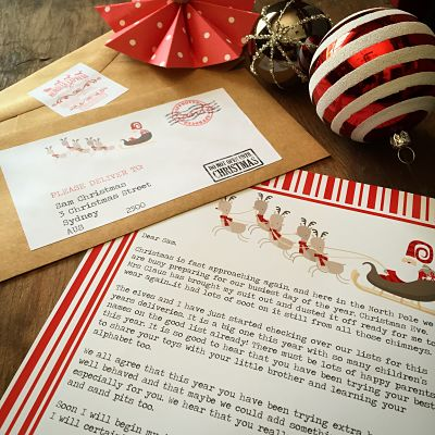 SANTA LETTERS AND PACKAGES