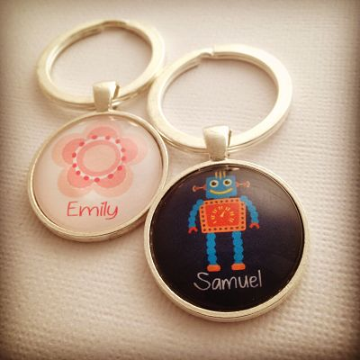 PERSONALISED KEYRINGS FOR KIDS