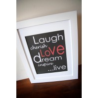 LAUGH, LOVE, LIVE